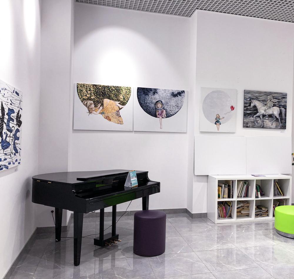 Wystawa Project Art Warszawa Galeria Łomianki marzec 2020