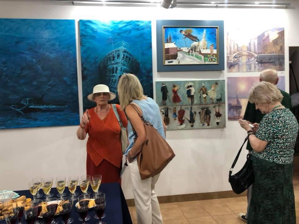 Wystawa Podróże Galeria Marchand czerwiec 2019 Białystok