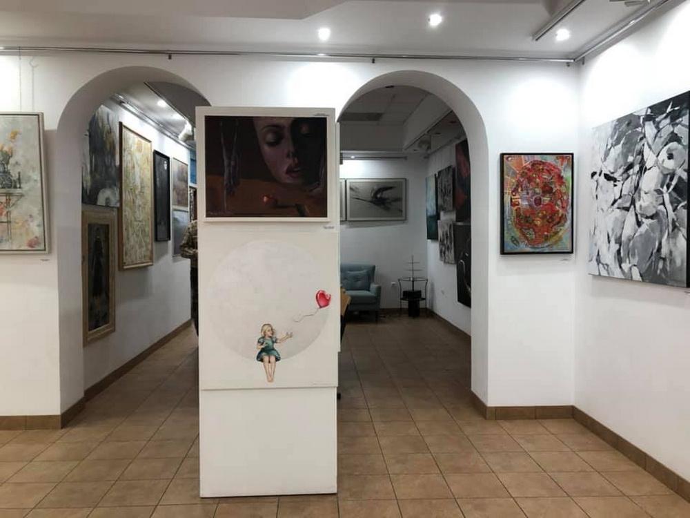 Wystawa Relacje Subtraktywne Galeria Marchand grudzień 2019